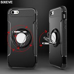 Модный чехол для iPhone 6 с 6S 7 7S 8 Plus X 10 5 5S 5SE ihone 6Plus 6SPlus 7Plus 8Plus Сотовый телефон Металлический магнитный кронштейн Крышка от Поставщики магнитные чехлы для мобильных телефонов