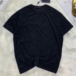 19SS france marque de luxe solide serviette t-shirt classique logo casual luxe rue skateboard manches courtes été respirant Tee HFYMTX416 ? partir de fabricateur