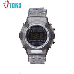niño nuevo reloj deportivo Rebajas Nuevo llega Relojes para niños Relojes de pulsera digitales a prueba de agua Reloj de pulsera deportivo para niños niños niñas # 40 regalo 1 pc