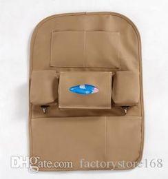 De haute qualité en cuir de luxe siège arrière organisateur sac de rangement multifonctionnel poche de siège de voiture disponible pour toutes les voitures ? partir de fabricateur