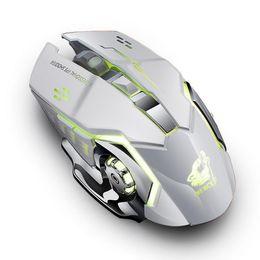 Computador desktop de vídeo on-line-2.4 GHz Sem Fio LEVOU Luz Gaming Mouse 6 Ergonômico Óptico para Desktop, Laptop, Para Computador Portátil de Jogo de Vídeo