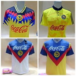 save off 18eb9 4befc 2019 America CA Soccer Jersey Retro 1993 1994 Football Shirt ...