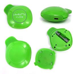 Argentina Imini Cube Box Mod Kit 550mAh Batería 3.0-3.7V Voltaje Mod. Mecánica ajustable Con 1,0 ml Cartucho de bobina de cerámica e kit de cigarrillos cheap cubes boxes Suministro