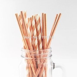 Gold Paper Straws Wholesale Australia | New Featured Gold Paper