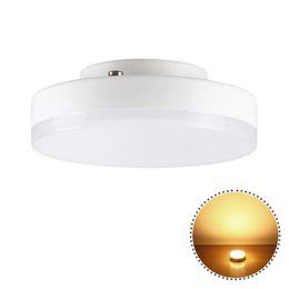 Lâmpada gx53 on-line-YWXLight GX53 7W Mini Rodada Luzes Super Bright LED Ceiling Lâmpada 220 - 240V