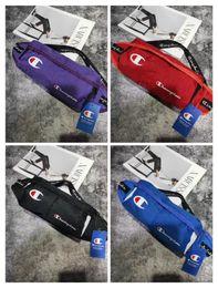 sacos de luxo Desconto Campeão dos homens Prime Saco Da Cintura Designer Crossbody Saco de Luxo Logotipo Sling Ombro Fanny Pack Costura Marca Bolsa de Viagem Ao Ar Livre PurseC62403