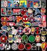 50Pc / Lot Marvel Anime Classique Autocollants Jouet Pour Ordinateur Portable Skateboard Bagages Decal Décor Drôle Iron Man Spiderman Autocollants Pour Enfants ? partir de fabricateur