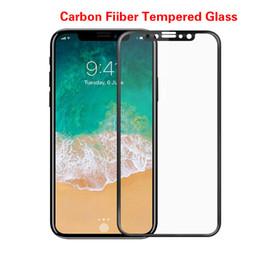 3D изогнутое углеродное волокно закаленное стекло для iPhone 8 7 6 6S Plus X Xs Max XR HD защитная пленка для экрана мобильного телефона X5 supplier x5 mobile phone от Поставщики мобильный телефон x5