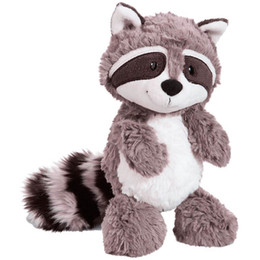 raccoons toys Promo Codes - Gray Raccoon Plush Toy Lovely Raccoon Cute Soft Stuffed Animals Doll Pillow For Girls Children Kids Baby Birthday Gift c2