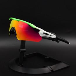 occhiali da sole a balestra Sconti New Brand Radar EV polarizzati Occhiali da sole del rivestimento Sunglass per le donne degli uomini di sport degli occhiali da sole di riciclaggio Eyewear UV400