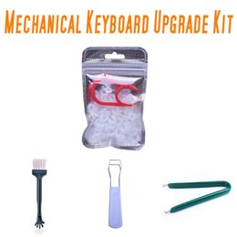 O кольцевой инструмент онлайн-Mechanical Keyboard O Ring Quiet Switch Sound Dampeners 5 Kit,Rubber O Ring+ Keycap Puller + MX Switch Puller +Keys Removal Tool