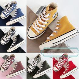 Argentina 1970S Zapatos para niños para niños Zapatillas de lona de diseñador para niñas 2019 Niños Amarillo Negro Rojo Zapatillas de deporte Chaussures Enfants Zapatos deportivos Tamaño 23-36 supplier size 36 boys canvas Suministro