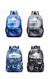 sacs à dos Promotion Fortnite Luminous Sac à dos pour homme cadeaux enfants Sac D'école Étudiant Garçons Filles Adolescents Fornite Sac à Bandoulière
