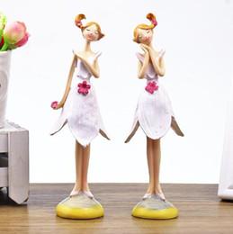 Пастораль стоя цветок фея украшения Творческий ангел танцует выражение супер мило обои декоративные украшения ремесел от Поставщики супер ангелы