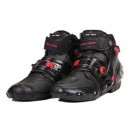 Canada Équitation Tribe Nouveaux Hommes Bottes De Moto Moto Bottes D'équitation Motocross Chaussures Off-Road Hommes Botas Moto Offre