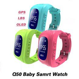 relógios impermeável Desconto Tela OLED GPS Inteligente Kid Assista SOS Chamada Localizador Localizador Rastreador para Childreb Anti Perdido Monitor de Relógio de Pulso do bebê tOP