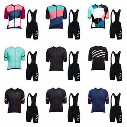 maap jersey de ciclismo Rebajas 2019 MAAP equipo Ciclismo Jersey Set Hombres Ropa de bicicleta Camisa de manga corta Babero Shorts Traje de verano de alta calidad bicicleta deportiva uniforme K073102