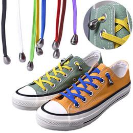 2019 protège talon chaussure silicone 1 paire 100cm Stretching No Tie Lacets rapide et facile des espadrilles élastiques Lacets femmes unisexe Lazy élastique lacets