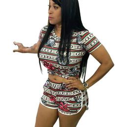 Argentina Carta de moda Ropa Mujer Chándal Trajes deportivos Camisas + Pantalones Camisetas Pantalones cortos Conjuntos de yoga Gimnasio Chándal 2pcs / set Tops de verano Pantalones cortos Suministro