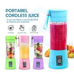 Portable Blender Cordless Juicer Collapsible Mixer Personal Size Fruit juice maker