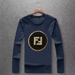 дом чистый Скидка Осень Клиринговый Дом мужской стиль с длинными рукавами печати прилив Мужская одежда весь хлопок футболка рубашка