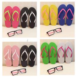 Mix Farben Mädchen Frauen Rosa Schwarz Flip-Flops Mit Tags Sandalen Strand Hausschuhe Schuhe Sommer Weiche Alias Strand Hausschuhe 20 paris von Fabrikanten