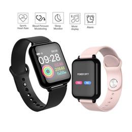 Tracker digitale online-Astuto dello schermo della vigilanza del braccialetto di colore Uomini Orologi sportivi digitali degli uomini Pedmeter multifunzione sonno Tracker Bluetooth Smartwatch