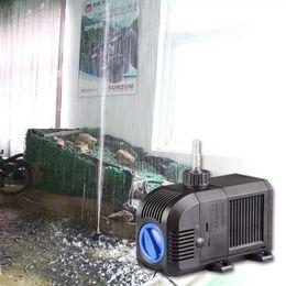 tanque de filtración Rebajas Ajustable 5W - 105W Bomba de agua de acuario Bomba de fuente de jardín Estanque de peces Estanque Bomba sumergible marina de arrecife de coral