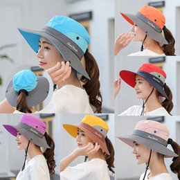 Cappello da sole da donna con cappuccio a coda di rondine per le donne con protezione UV da cappello di trilby grigio fornitori