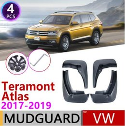 Mud Flaps Mudguard Fenders 4pcs For VW Atlas Teramont 17-19