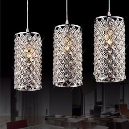 26 colgante de luz led Rebajas Moderno dorado / cromo brillo LED cristal araña lámpara de cristal E27 / 26 lámpara colgante accesorio de iluminación colgante de techo lámpara de cristal