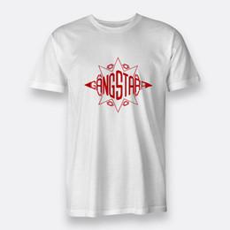bande bianche Sconti T-shirt Gang Starr Hip Hop Duo bianca per uomo T-shirt S-3XL Discout Hot Tshirt nuova T shirt uomo orgoglio scuro