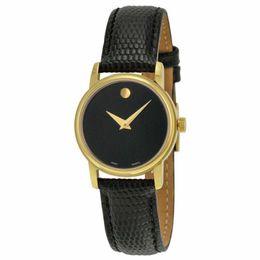 2019 relógios de couro casais Casal relógio de Pulso 2100005 2100006 Couro Preto com Ouro Mens Womens Watch 2 pcs frete grátis por DHL desconto relógios de couro casais