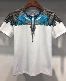 2019 boa qualidade camisetas Verão 2019 grossista dos homens t-shirts de veludo Europeu em torno do pescoço de algodão de manga curta de boa qualidade bem-vindo ao tamanho dos homens m-3XL 510 desconto boa qualidade camisetas