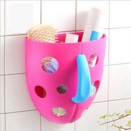 Bin plastica online-Vasca da bagno giocattoli Organizzatore di stoccaggio Bin Toddler Kid Net Super Scoop Vasca da bagno neonato giocattolo Clockwork giocattoli classici VVA317