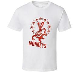 2019 12 monos 12 Monkeys Cult Classic Película de ciencia ficción Programa de televisión Camiseta para hombre 2018 Marca de moda Camiseta O-cuello 100% algodón Camiseta Tops Camiseta personalizada Environmenta 12 monos baratos
