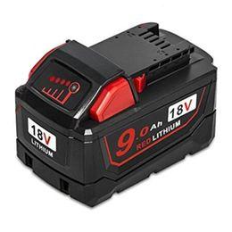 Placas de empacotamento on-line-M18 9Ah Bateria Caso plástico resistente carregamento Proteção Circuit Board PCB Para 18V 1.5Ah 3.0Ah 9.0Ah Bateria Box