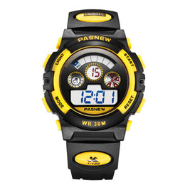 2019 pasnew reloj deportivo Moda Relojes para niños Pasnew Top Brand Relojes para niños Reloj digital digital Reloj deportivo Reloj montre enfant garcon pasnew reloj deportivo baratos