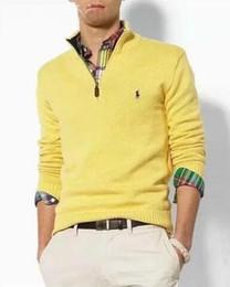 Maglietta a maniche lunghe online-Home Abbigliamento Abbigliamento uomo Maglioni da uomo Dettaglio prodotto 2018 maglietta a maniche lunghe da uomo nuova con scollo a V manica corta sottile e autum