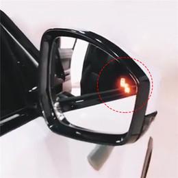 autospiegel für blinde flecken Rabatt Auto Universal BSD Mikrowelle Radarsensor Sicherheit Blind Spot Detection Seitenspiegel Headted für Range Rover Sport Alarm Systems
