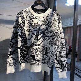 женские свитера с длинным рукавом Скидка женская одежда вязаный кардиган Feminino женские Женские свитера негабаритных длинный контраст цвет кардиган женщин свитер плюс размер ch-4