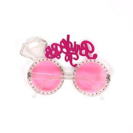 3afffefa8b63a óculos de noiva Desconto Noiva Para Ser Festa de Despedida Óculos De  Plástico Diamantes Noiva Óculos