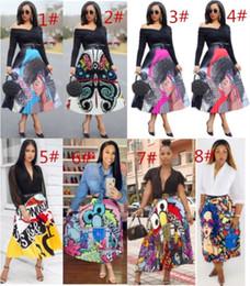 multi cores bola vestidos meninas Desconto Vestido de verão das mulheres designer Mid-Calf vestido plissado saia de alta qualidade elegante elegante clubwear hot klw0408