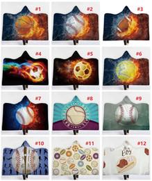 Béisbol con capucha Mantas Rectangular Softbol Fútbol Manta deportiva Poliéster grueso Deportes Textiles para el hogar Accesorios 130 * 150 cm K122 desde fabricantes