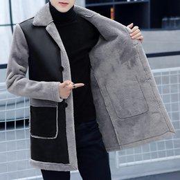 Erkek sıska deri elbise kış yeni deri ceket yaka pu ceket ceket nereden