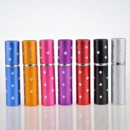 vaporisateur de bouteilles de parfum Promotion 5ML en aluminium forme étoile portable voyage parfum vaporisateur bouteille vide verre parfum cosmétiques pulvérisateur au détail en gros VVA470