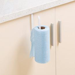 Rouleau de fer Support à papier Armoire de cuisine Support à essuie-tout suspendu Support à papier collant Support de rangement ? partir de fabricateur