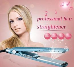 Canada 2019 New Titanium PRO 450F 1 1/4 plaque Titanium Hair Straightener Fers à lisser Fers à lisser Flat Iron de Opec Offre