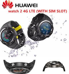 Часы 4g водонепроницаемые онлайн-Original Huawei Watch 2 International Rom Smart watch Supports LTE 4G Phone Call For Android iOS with IP68 waterproof NFC GPS