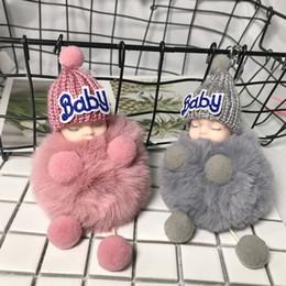 ford fusion keys Rebajas Lindo llavero creativo de piel para bebé Bolso colgante muñeca de peluche Regalos de vacaciones